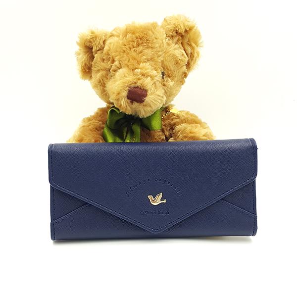 กระเป๋าสตางค์ผู้หญิง Cheer Letter - Navy