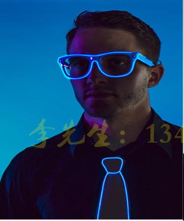 แว่นตา led