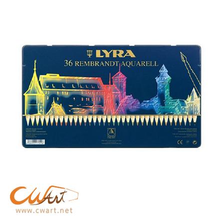 ชุดสีไม้ระบายน้ำLyra รุ่นaquarell 36สี