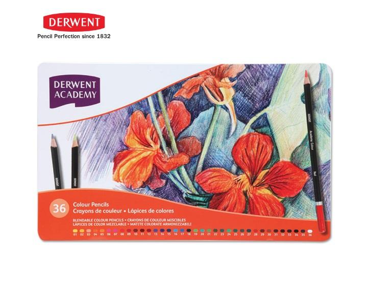 สีไม้Derwent รุ่นAcademy 36สี
