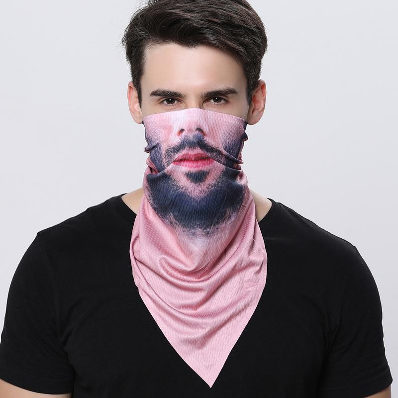 ผ้าบัฟใบหน้าคน 3D