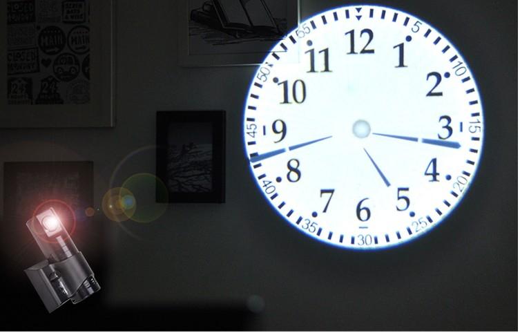 นาฬิกาโปรเจคเตอร์