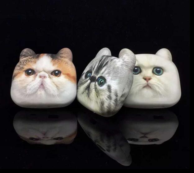 แบตสำรองหน้าแมว 3D
