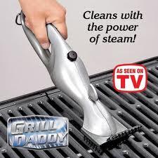 เครื่องทำความสะอาดเตาบาร์บีคิว Grill Daddy