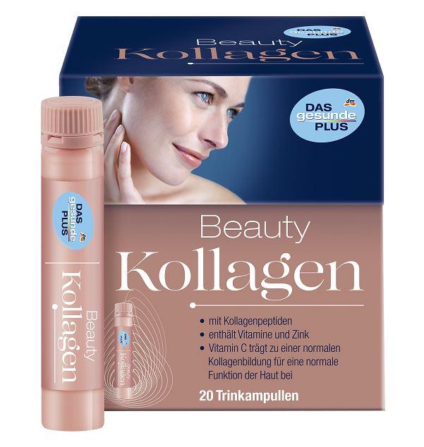 Das Gesunde Plus Collagen Beauty 1 กล่อง (20 หลอด) วิตามินน้ำสูตรคอลลาเจนเข้มข้นพร้อมดื่ม เพียงวันละ 1 ช็อต ให้ผิวเนียนเด้งไม่ต้องง้อโบท็อกซ์ ช่วยให้ผิวพรรณดูสวยเปล่งประกาย ช่วยให้ผิวกระชับขึ้น เพิ่มความยืดหยุ่นของผิวและลดความหมองคล้ำ ช่วยลดร่องลึกของริ้ว