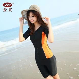 ชุดว่ายน้ำ 2xl สีส้ม เสื้อ+กางเกง รอบอก 36-40 เอว 26-34 สะโพก 36-44 นิ้ว ตัวเสื้อซิปหน้า ผ้าเนื่อดีมากๆค่ะ