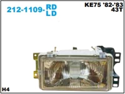 เสื้อไฟหน้า TOYOTA KE75 1982