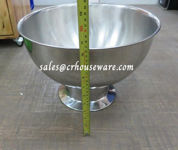 Punch Bowl Stainless Steel 013-HK-22586W,ชามพันธ์ใส่เครื่องดื่ม