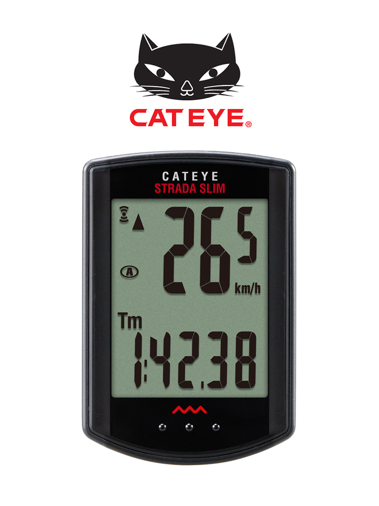 ไมล์ Cateye Strada Slim