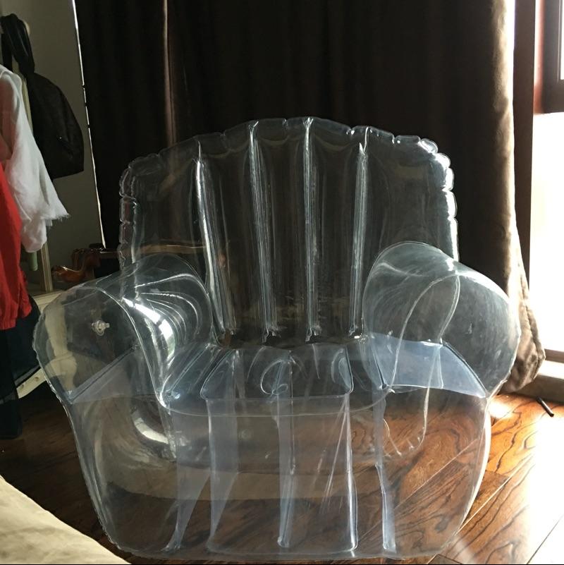 เก้าอี้โซฟาเป่าลมแบบใส