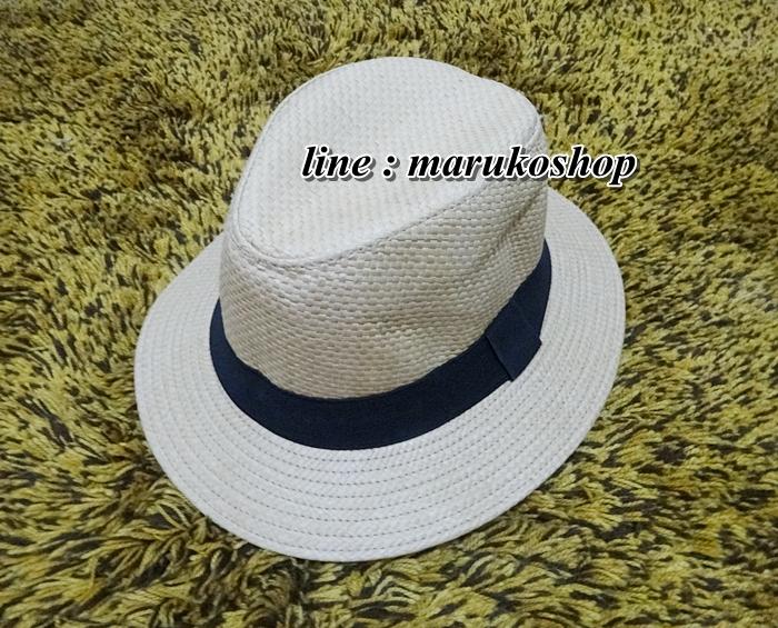 หมวกปานามาปีกกว้าง หมวกสาน หมวกปานามาสีน้ำตาลอ่อนคาดดำ พร้อมส่งค่ะ **รูปถ่ายจากสินค้าจริงที่ขายค่ะ**