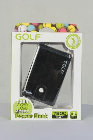 พาวเวอร์แบงค์ Golf Tiger 18,แบตสำรอง Golf Tiger 18,powerbank 7800mah ของแท้ 100%