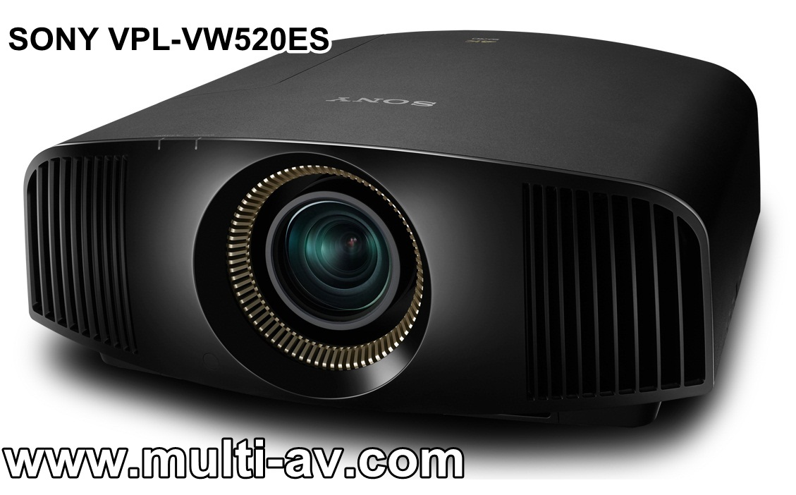 SONY VPL-VW520ES 4K 4096x2160 Contrast 300,000:1