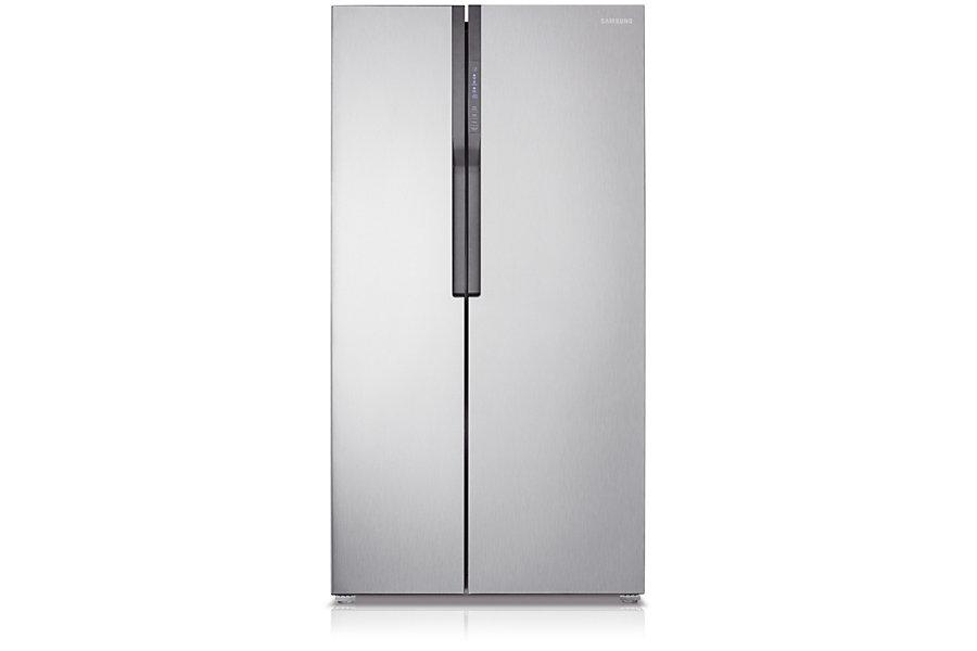 Samsung ตู้เย็น Side by Side Superstar SBS ความจุ 583.1 ลิตร/20.6 คิว รุ่น RS552NRUASL/ST