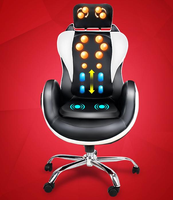 เก้าอี้สำนักงานนวดไฟฟ้า