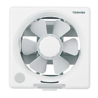 Toshiba พัดลมระบายอากาศ เข้า-ออก ใบพัด 8 นิ้ว รุ่น VRH-20P สีเทา