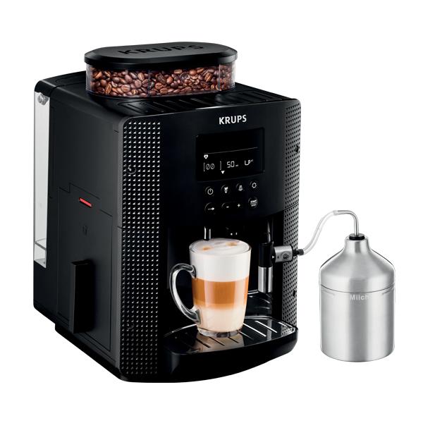KRUPS เครื่องชงกาแฟเอสเพรสโซ่ ไฟ 1400 วัตต์ ความจุ 1.7 ลิตร รุ่น EA8160 สีดำ