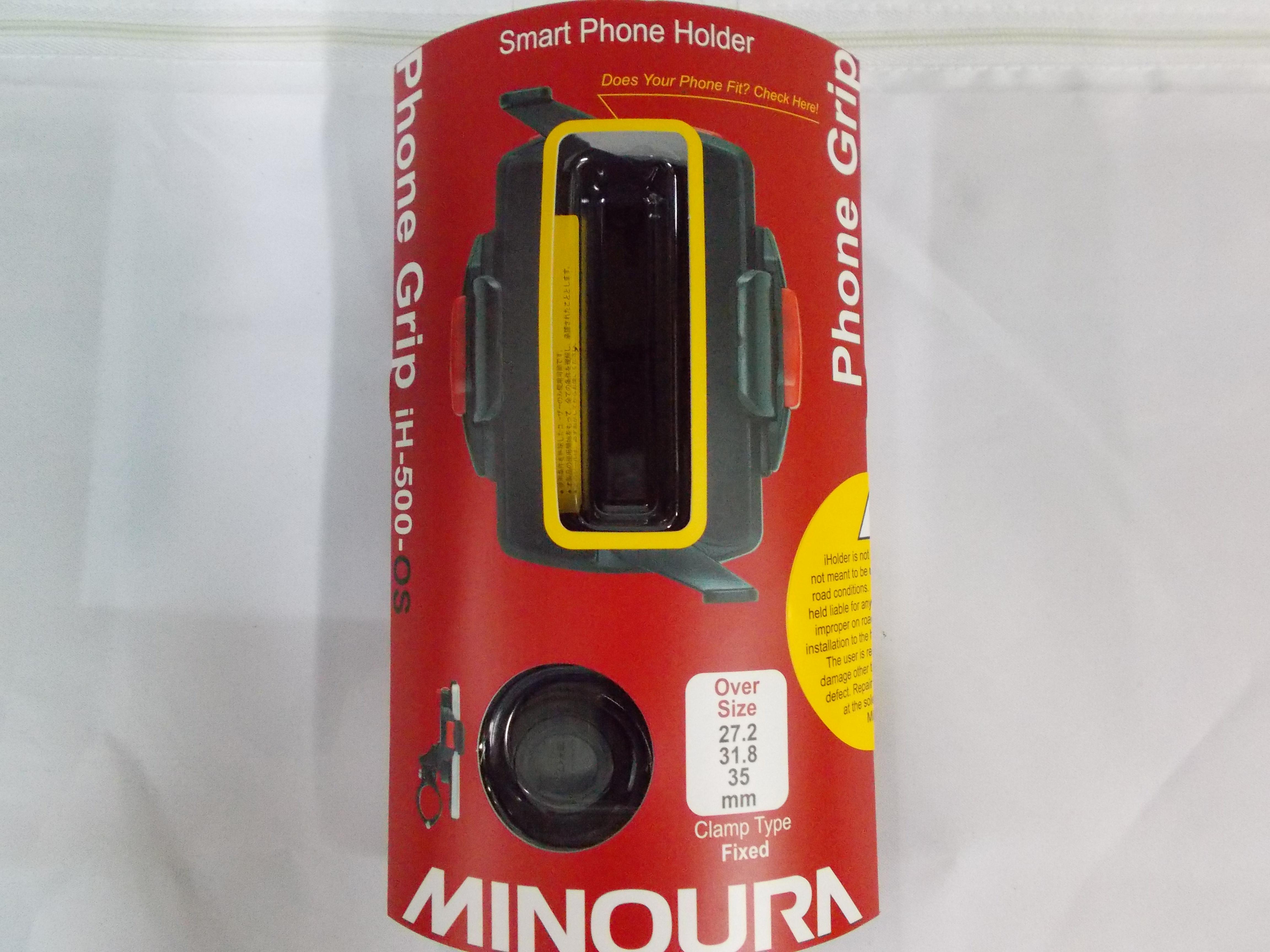 ตัวยึดจับสมาร์ทโฟน MINOURA JAPAN model: iH-500-OS