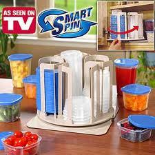 ชุดภาชนะสำหรับใส่อาหาร 24 ชิ้น spin n store