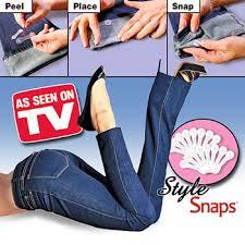 แผ่นติดผ้า Style Snaps