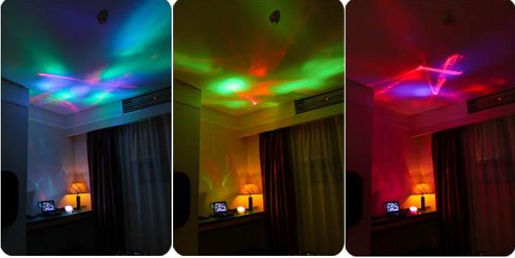 โคมไฟสร้างบรรยากาศในห้อง color diamond