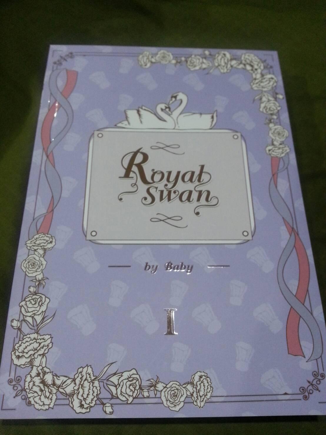 Royal Swan By baby เล่ม 1 มัดจำ 600 ค่าเช่า 120b.
