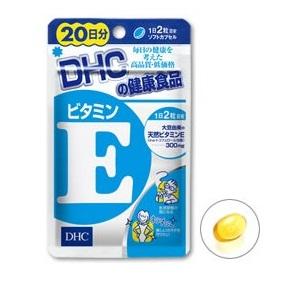 DHC Vitamin E (60 Days) ช่วยบำรุงผิวพรรณ ลดริ้วรอยจากสิวช่วยชะลอความแก่ผิวอ่อนกว่าอายุจริง ลดอัตราเสี่ยงของโรค