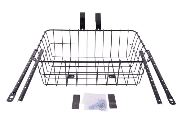 Wald 1372 Front Basket Black