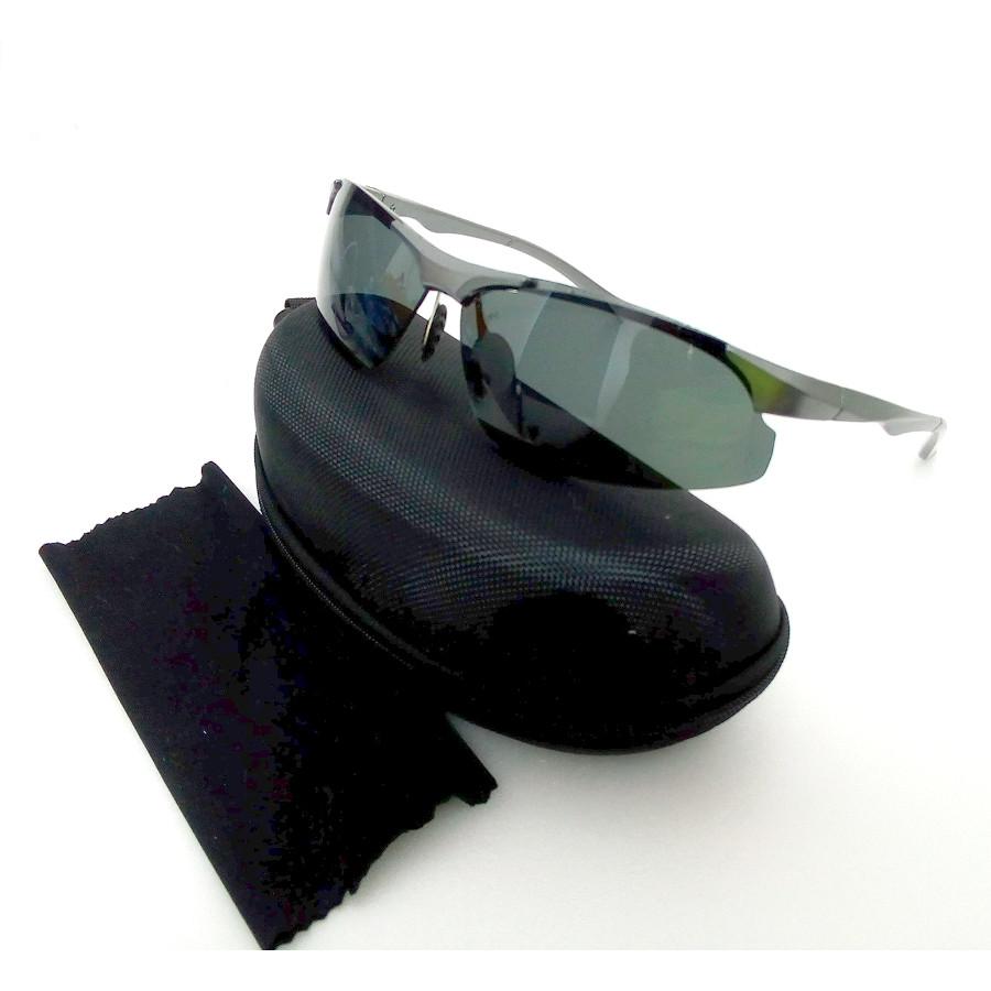แว่นกันแดด แนวสปอร์ท กรองสีเทา เลนส์ปรอท รุ่น Live Speed