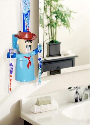 ตุ๊กตาบีบยาสีฟัน cow boy