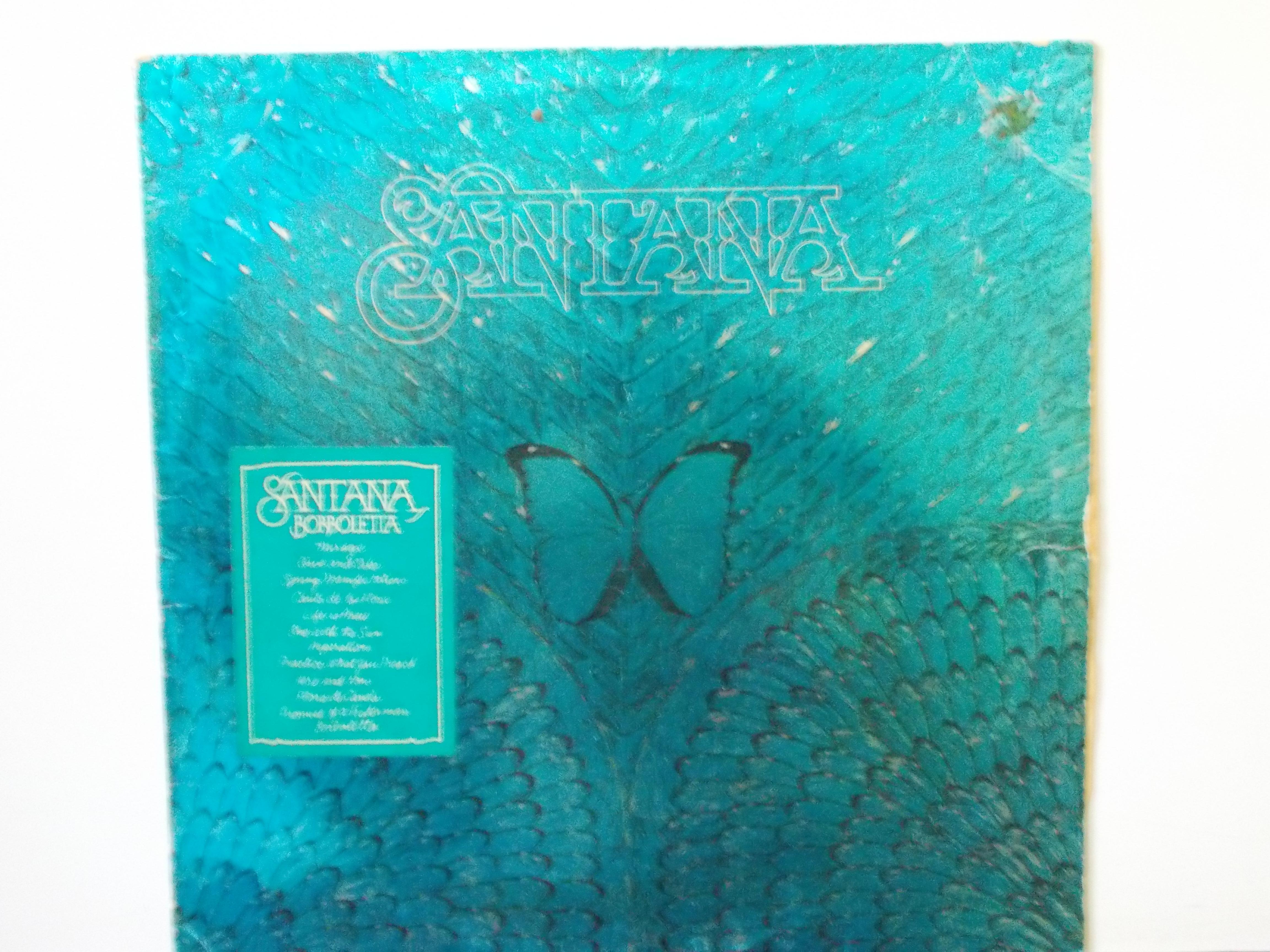 แผ่นเสียง SANTANA BORBOLETTA CBS MADE IN ENGLA : VG+/NM