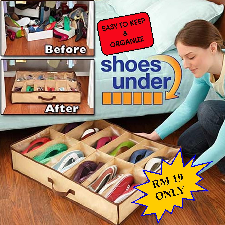 ที่เก็บรองเท้า Shoes under