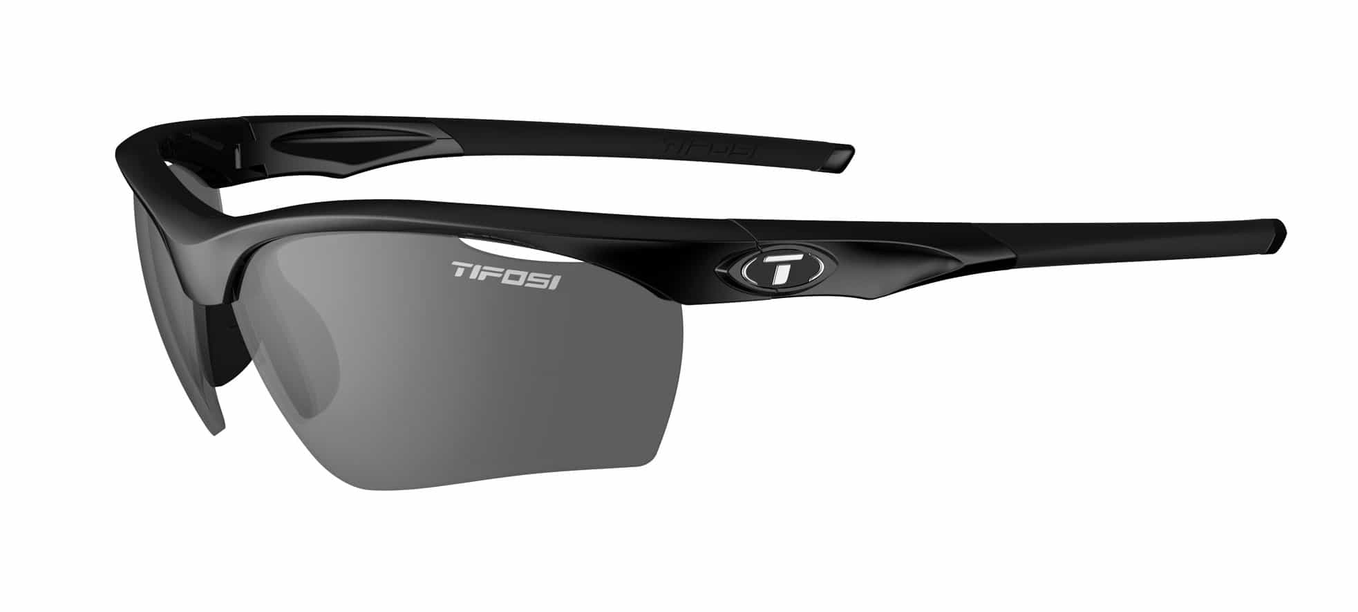 Tifosi VERO Gloss Black (Smoke/AC Red/Clear)