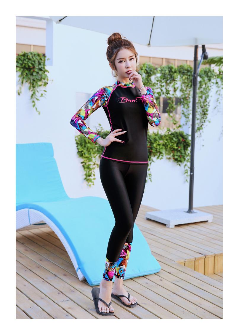 ชุดว่ายน้ำกัน UV 2xl เสื้อ +กางเกง รอบอก 36-42 รอบเอว 26-34 สะโพก 38-48 นิ้ว รอบแขน 16-20 นิ้ว เสื้อผ้าดีงานสวยมากๆค่ะ