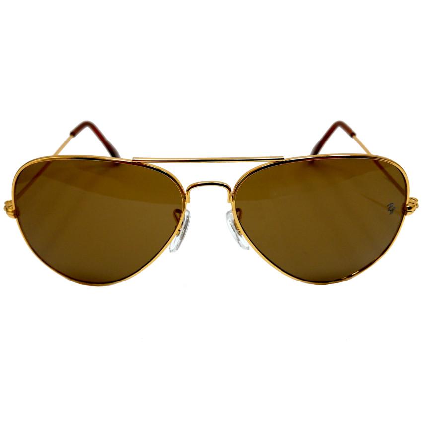 แว่นกันแดด หรู ทรงเรแบน กว้าง 14cm -เลนส์ 5.8cm