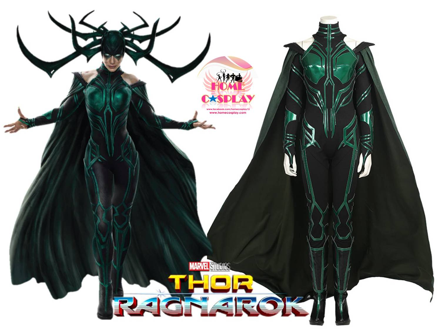 Super Premium Set: ชุดพรีเมียม เฮลา Hela - Thor Ragnarok