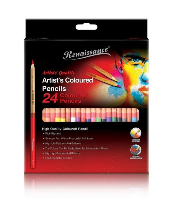 ชุดสีไม้Renaissance 24สี
