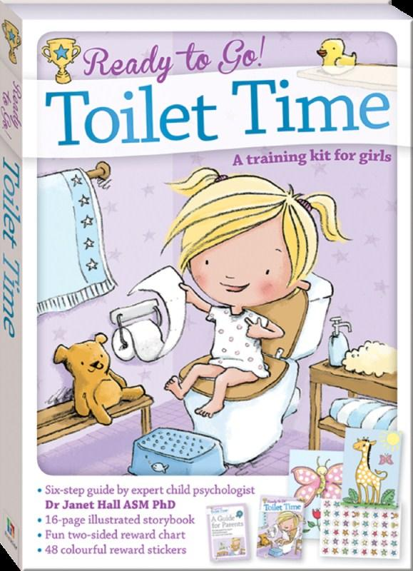 Ready To Go Toilet Time For Girls (Dr. Janet Hall)