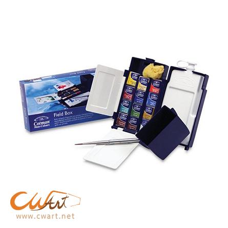 ชุดสีน้ำWinsor Cotman Field box half,12สี