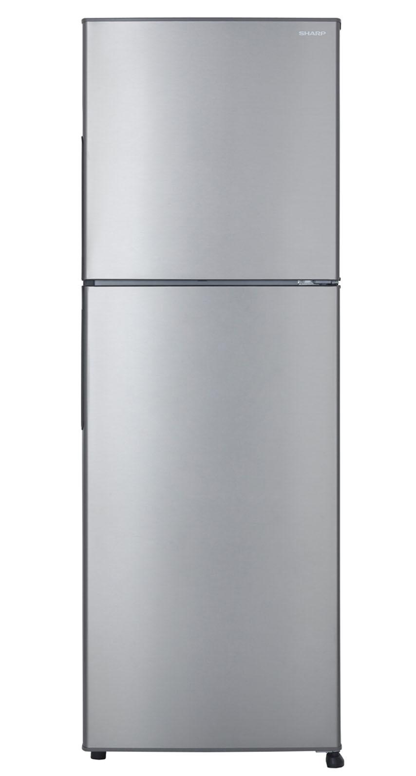 Sharp ตู้เย็น 2 ประตู พร้อมระบบฟอกอากาศ Ag+ Nano ขนาด 7.9 คิวรุ่น SJ-Y22T-SL - สีเงิน