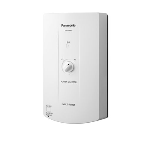 Panasonic เครื่องทำความร้อน Multi Point 6,000W ปรับไฟได้ 2 ระดับ รุ่น DH-6GM4 สีขาว