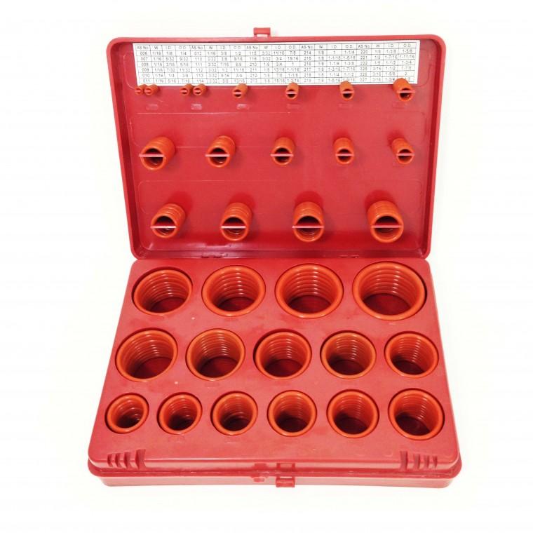 โอริงกล่อง สีแดง Silicone 80 Hs (ไซส์นิ้ว)