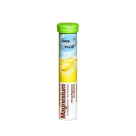 DAS gesunde PLUS Magnesium 375 mg. วิตามินเม็ดฟู่ละลายน้ำ จากเยอรมัน ฝาเขียว แมกนีเซียม (รสมะนาว) ช่วยให้ระบบการทำงานของฮอร์โมนเป็นปกติมีหน้าที่ทำงานเกี่ยวกับระบบกล้ามเนื้อและเซลล์ต่างๆ นักกีฬาหรือคนที่มีอาการปวดเมื่อยกล้ามเนื้อก็จะทานแมกนีเซียมเข้าไปเสริ