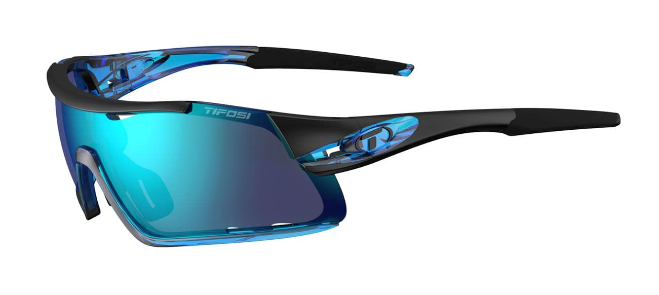 Tifosi DAVOS Crystal Blue (Clarion Blue/AC Red/Clear)