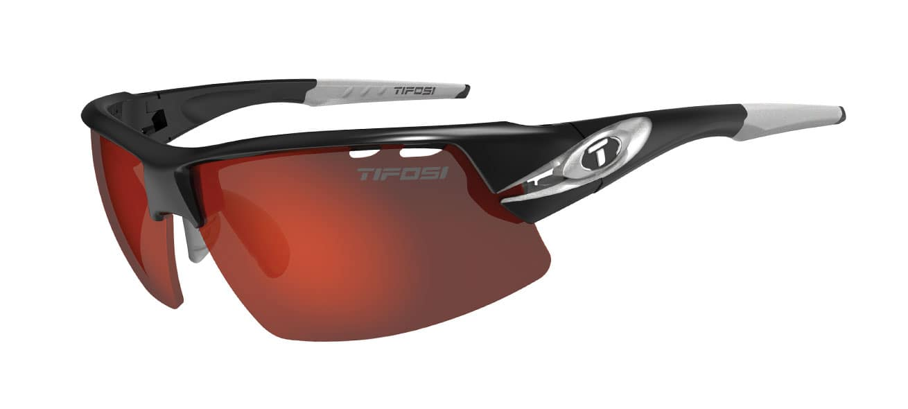 Tifosi CRIT | RACE SILVER CLARION RED / AC RED / CLEAR