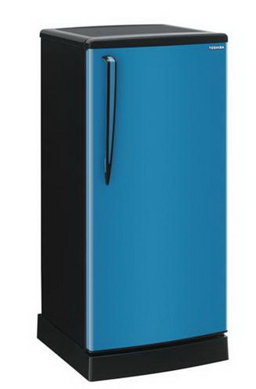 Toshiba ตู้เย็น 1 ประตู 5.0Q รุ่น GR-B144Z สีฟ้า
