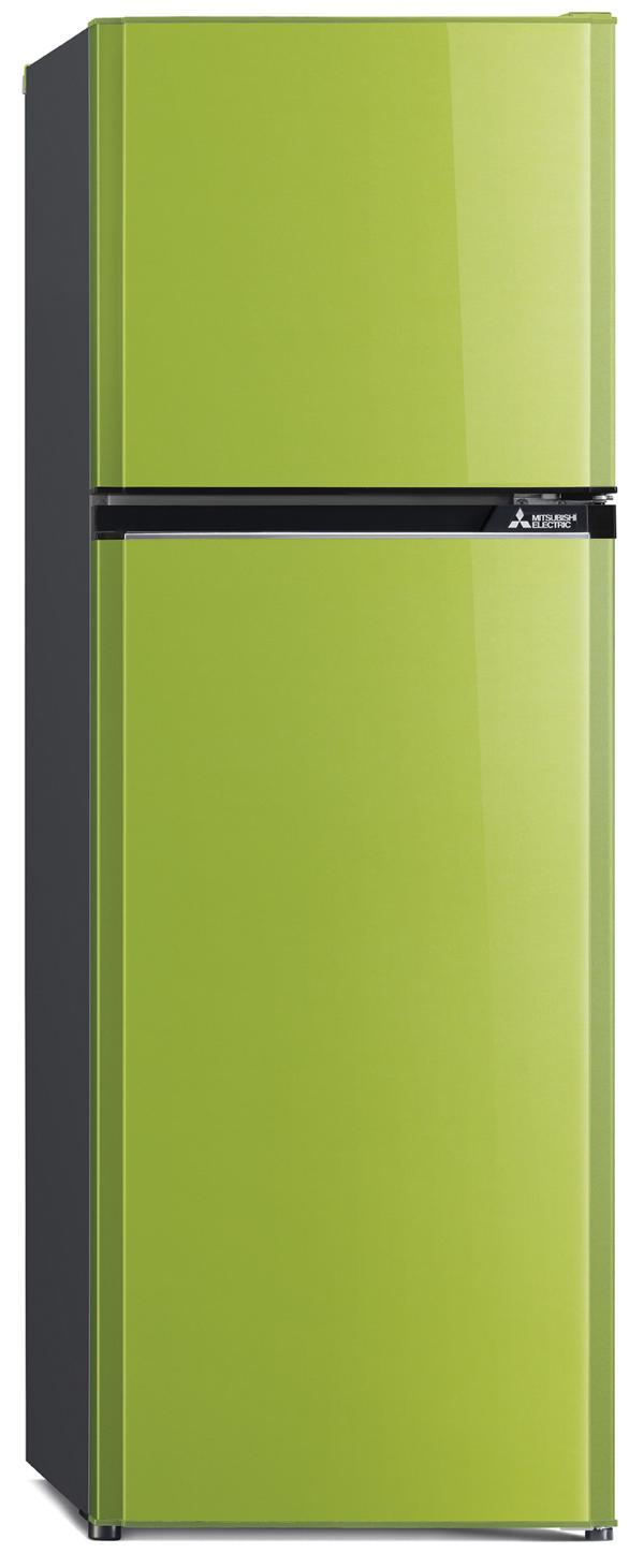 Mitsubishi ตู้เย็น 2 ประตู 9.7Q Flat Design รุ่น MR-FV29J-GR สีเขียว