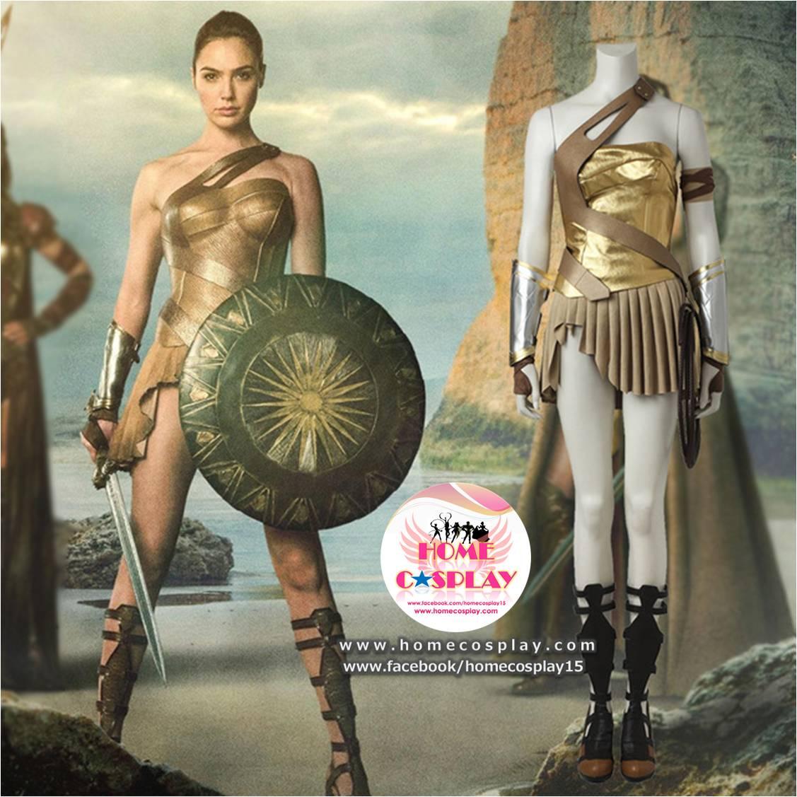 Super Premium Set: #2 ชุดวันเดอร์วูแมน Wonder Woman - Justice League