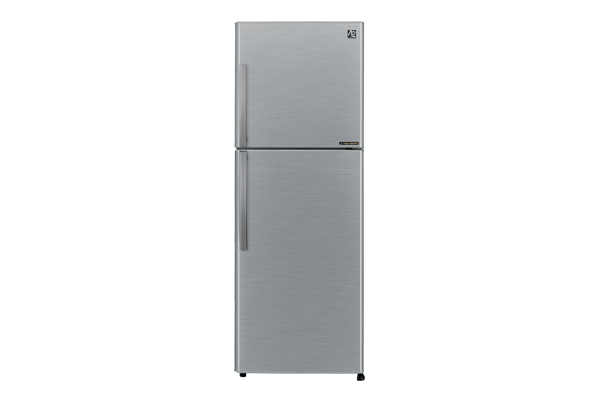 Sharp ตู้เย็น 2 ประตู พร้อมระบบ J-Tech Inverter ขนาด 10.6 คิวรุ่น SJ-S28EV-SL - สีเงิน