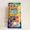 Crayola Washable Kid's Paint สีน้ำ 18 สี พร้อมพู่กัน ในพาเลต ล้างออกได้ ปลอดสารพิษ